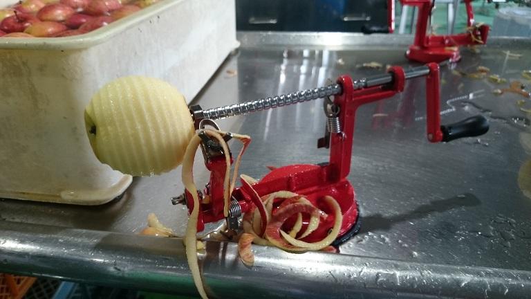 りんご剥き機
